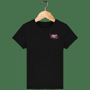 Black Rozes Brodé (T-Shirt)