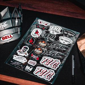 Planche stickers FSLC